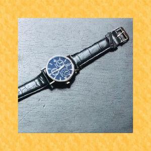 Other - Men's Black Strap Watch